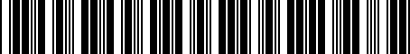 Barcode for 9094201033