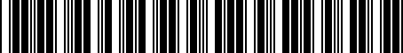 Barcode for PT22848080