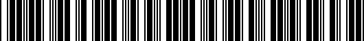 Barcode for PT93803150LH