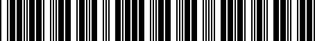 Barcode for PTR4333010