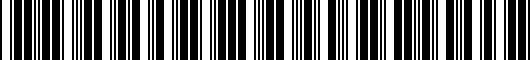 Barcode for PTS2133H70LD