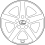 CAP, WHEEL image for your 1994 Toyota Camry